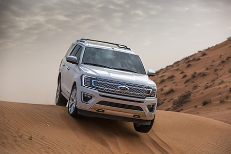 Expeditions All New Easy To Use Terrain Management System Lets Customers Select From Seven Special Drive Modes That Help Expedition Automatically Adapt To