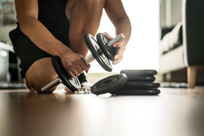A gym in your home faces oman